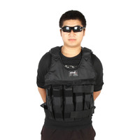 Max Loading 50kg Adjustable Weighted Vest Weight Jacket Exercise Boxing Training Waistcoat Invisible Weightloading Sand