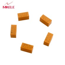 CNIM Hot 5 Pcs DC12V SHG Coil DPDT 8 Pin 2NO 2NC Mini Power Relays PCB Type HK19F Yellow