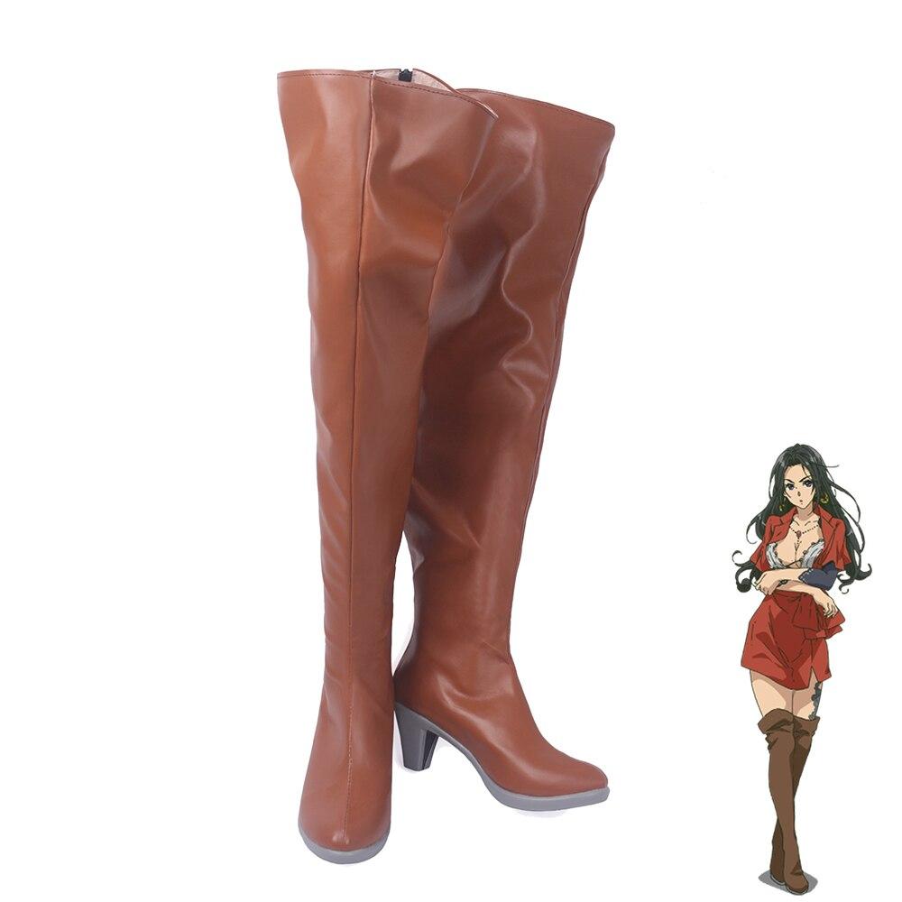 Violet Evergarden Cattleya Baudelaire Women Cosplay Shoes Boots