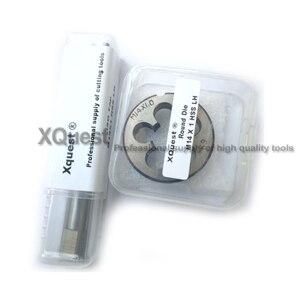 Image 3 - 2PCS Metric Left Hand Tap and die set M14 M14X2 LH Fine Thread Machine taps cutting Round Dies M14X1.5 M14X1.25 M14X1 M14X0.75