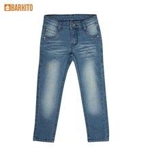 Брюки модель «джинсы» детские Barkito «Морские приключения», синие