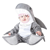 New Infant Toddler Baby Girls Boys Shark Animal Costume Halloween Dress up Cosplay Outfits Purim Holiday Costume
