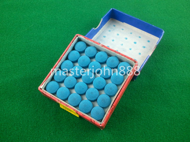 10 Boxes Glue-on Pool Billiards Snooker Cue Tips 9mm Free Shipping Wholesales