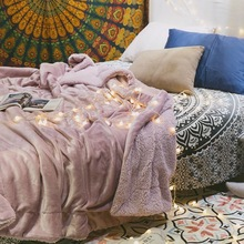 LM Twin Size Blanket Flannel Fleece Twin Bed Blanket | Plush Soft Cozy Warm Lightweight Microfiber Reversible All Season Use цена