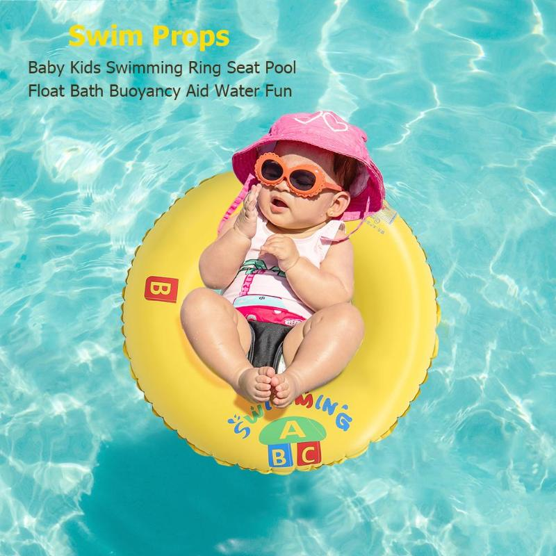 Water Pool Float Circle Summer Water Fun Inflatable Armpit Swimming Rings For Adult Children Pools Beach Swimming Rings