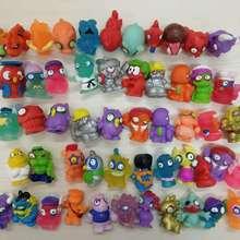 20Pcs/50pcs/144pcs lot Zomlings Monster Zombie Action Figures Pocket Toys Squish Bendy Soft Toy Mini Figure Ultra Rare