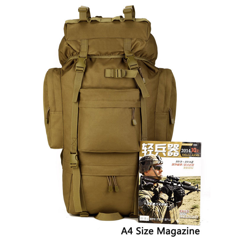 Hiking Hunting Backpack Tactical Comfort Waterproof High Capacity Military Style Outdoor Travel Bag  Utility Camping Hiking Bags