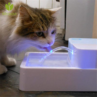 Automatic Luminous Pets Water Fountain Pet water Filtration Fountain dogs Electric Water Dispenser Drinking Bowls For Dogs Cats