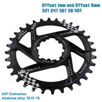 MTB GXP Guarnitura bicicletta a scatto fisso Manovella 30T 32T 34T 36T 38T 40T Corona chainwhee per sram gx xx1 X1 x9 gxp Aquila NX