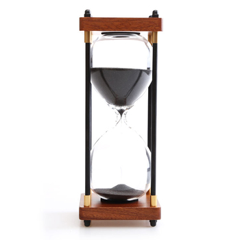 Retro Hourglass Timer Desktop 30 Minutes Hourglass Children's Birthday Gift Home Decoration Accessories Hourglass Sand Timers фото