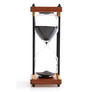 Retro zegar z klepsydrą pulpit 30 minut klepsydra prezent urodzinowy dla dzieci akcesoria do dekoracji wnętrz klepsydra piaskowa