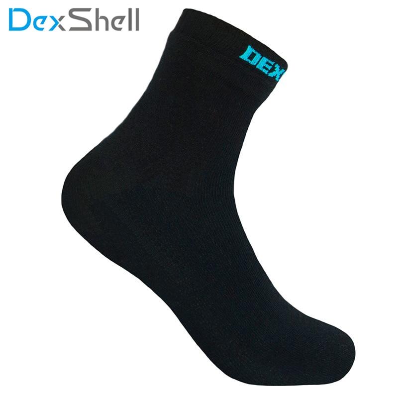 DexShell Mens Womens Ladies Comfy Thermal Casual Outdoor Waterproof Socks Black