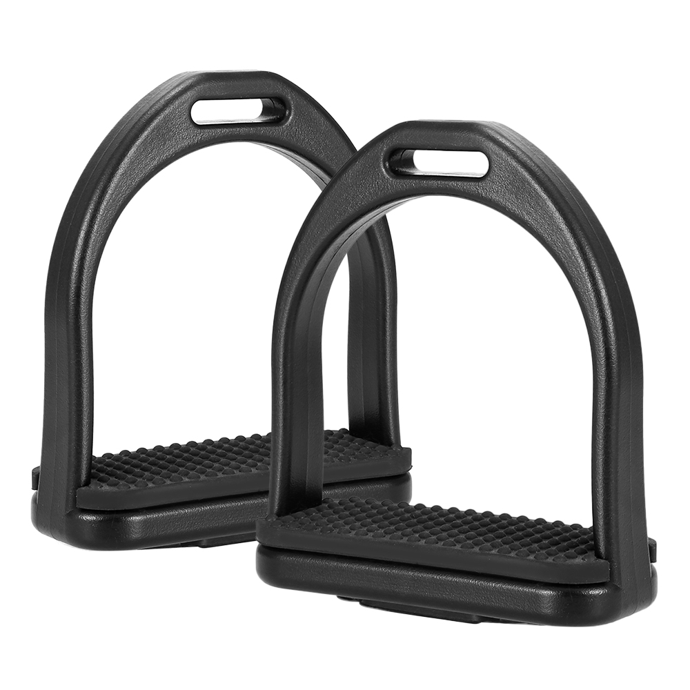 2 PCS Horse Riding Stirrups Plastic Horse Saddle Anti-skid Horse Pedal Super Lightweight Equestrian Safety Equipment