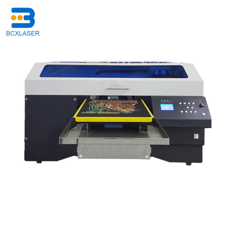 Large Industrial A2 Jet 5113 Print Head Magnetic Digital T Shirt Flatbed Dtg Printer