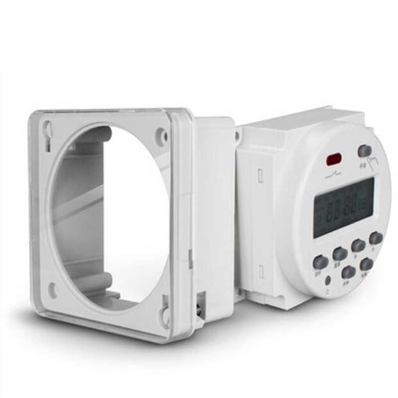 CN101A DC12V/AC 220V 電源サイクルキッチンタイマーカウントダウン秒とき制御スイッチループ制御モノラルカウントダウンコントローラ