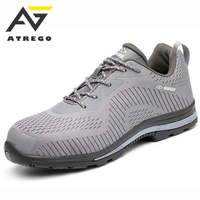 AtreGo Men's Indestructible Steel Toe