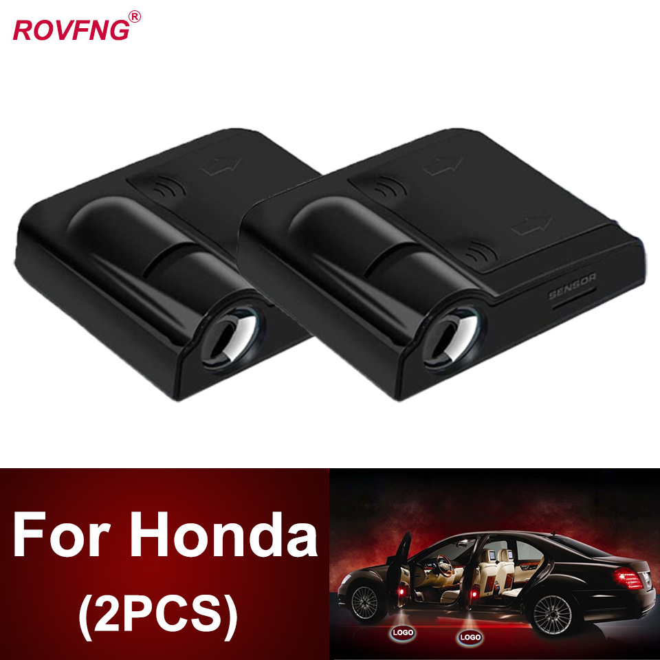 Rovfng добро пожаловать Led подсветка дверей автомобиля для Honda