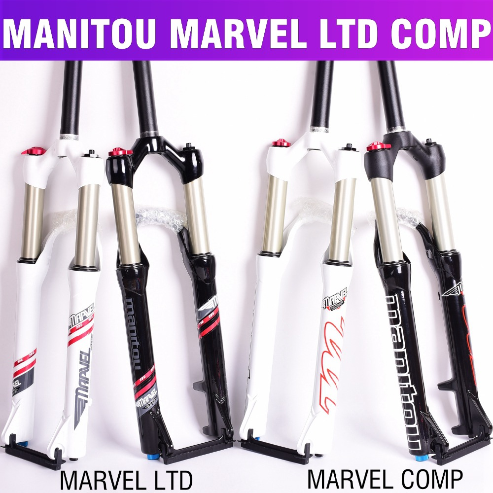 Bicycle Fork Manitou comp LTD 26 size mountain MTB Bike machete air Forks marvel suspension pk
