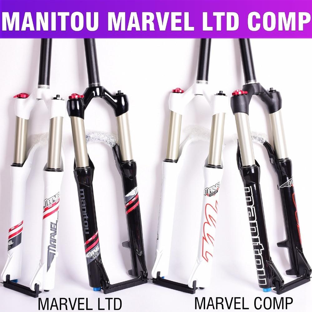 Fourche de bicyclette Manitou comp LTD 26 taille montagne VTT Vélo machette air Fourches marvel suspension pk à SR SUNTOUR offre spéciale