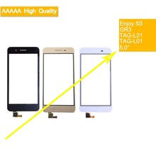 10Pcs/lot For Huawei Enjoy 5S GR3 TAG-L21 TAG-L01 TAG-L03 TAG-L13 TAG-L22 Touch Screen Touch Panel Sensor Digitizer Touchscreen стоимость