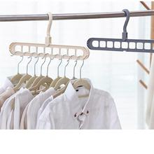 Multi Port Support Circle Clothes Hanger Clothes Drying Rack Multifunction Plastic Scarf Clothes Hangers Hangers Storage Racks