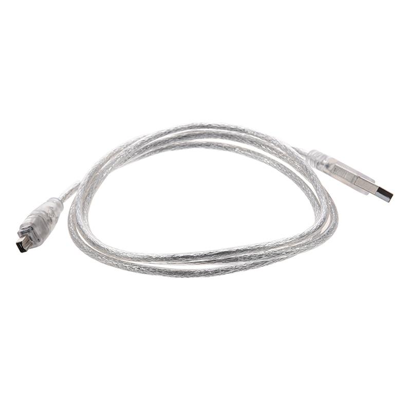 4,5m Firewire Kabel 9-pin /</> 6-pin CAK IEEE 1394b Stecker 9p//6p 800Mbps