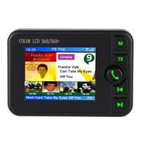 Car DAB Radio Portable Digital FM Radio 170 240MHz DAB/87.5 108MHz FM Car Digital DAB Radio with LCD Display Screen New