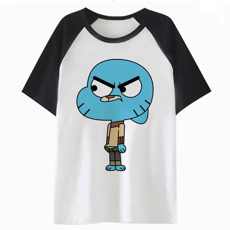gumball amazing world   t     shirt     t  -  shirt   hop tshirt streetwear for top funny male men hip harajuku clothing tee P1098