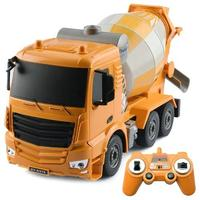 RCtown 1:26 RC Remote Control Charging Mixer Truck Kids Boys Electric Toy Engineering Machine Model Toys