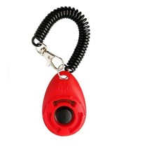 1pc Pet Trainer Pet Dog Training Dog Clicker Adjustable Sound Key Chain And Wrist Strap Doggy Train Clickers XWBE pet training dog clicker adjustable sound key chain and wrist strap doggy train