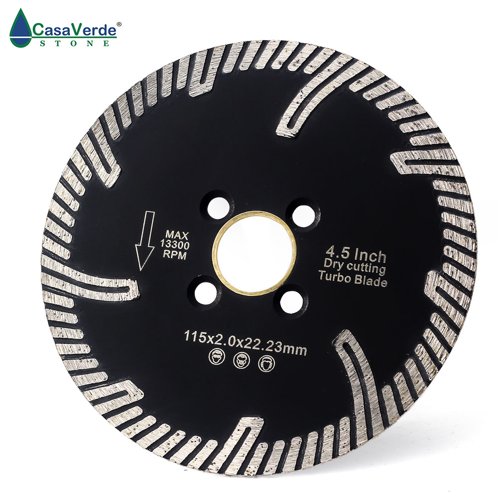 DC-TCB02 Free Shipping 4.5 Inch 115mm Circular Diamond Grinding Disc And Cutting Blade For Stone