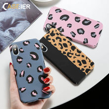 CASEIER Luminous Case For Huawei P20 Lite 10 Mate 20 10 Pro Leopard Pattern Cover Panther Stripes Hard PC Case For Honor 10 9 8(China)