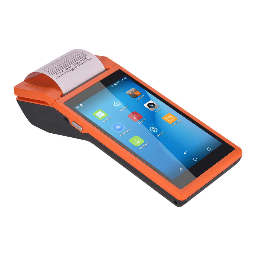 Impresora PDA portátil todo en uno Smart POS Terminal impresoras portátiles inalámbricas Terminal de pago inteligente WiFi/comunicación 3G
