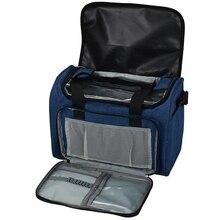 Прочная легкая сумка пряжа Бытовая сумка для хранения Складная сумка чехол для хранения для вязания крючком спицы Швейные аксессуары