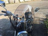7/8 And 1 Motorcycle Handlebars Adjustable Windscreen Windshield For Honda Shadow 125 400 5000 VT125 VT400 VT500 1983 2009