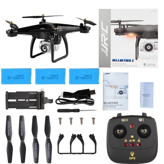 (With 3 Battery )Original JJRC H68g Drone With 1080p Camera GPS 5g Wifi Fpv Auto Follow RC Quadrocopter(With 3 Battery )Original JJRC H68g Drone With 1080p Camera GPS 5g Wifi Fpv Auto Follow RC Quadrocopter