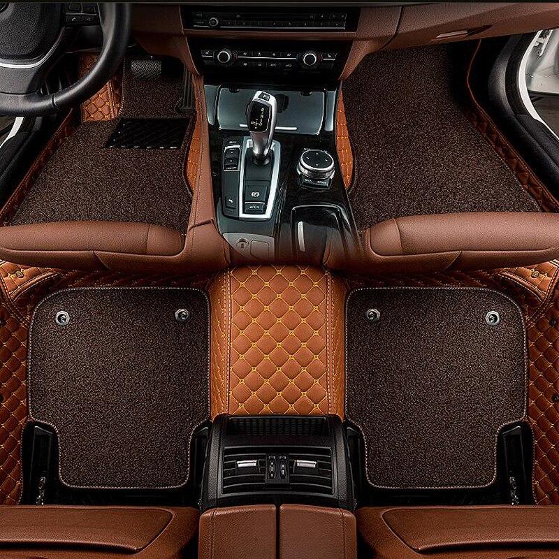 CARFUNNY tapis de sol de voiture ajustement LHD conduite à main et conduite à main RHD tous les modèles pour BMW M1 M3 M4 X1 X3 X4 X5 X6 Z4