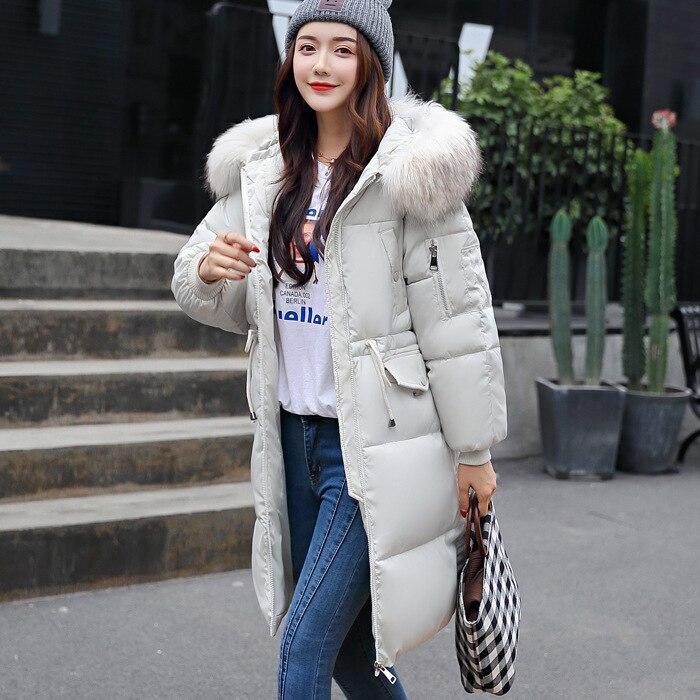 Vêtements Fashion Coton À Costume Polyester Lâche Rembourré Promotion Coréenne Manteau Un Long Servir Hiver Facile robe Top Pain 2018 Taille qpESgwXx