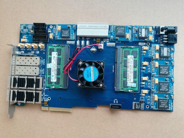 US $350 55 5% OFF|xilinx board xilinx fpga pcie board xilixn fpga  development board pcie board Kintex 7 XC7K420T XC7K325T xilinx pcie board  -in Demo