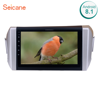 Seicane 9 2DIN Android 8.1 For 2015 Toyota Innova Right Hand Drive 1024*600 Car Radio GPS Unit Player Steering Wheel Control image