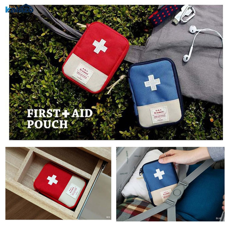 Outdoor Travel Medical Bag First Aid kit Mini Car bag Home Small box Emergency Survival Rescue