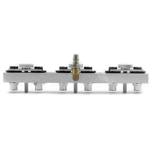 Image 4 - Adaptador para inyectores de alimentación lateral, máquina de limpieza de inyectores de combustible de coche CNC602A