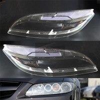 Для Mazda 6 2003 2004 2005 2006 2007 фар автомобиля фары прозрачные линзы для Автомобильный брелок крышка водителя и пассажира сбоку автомобильный брело...