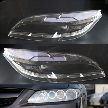 For Mazda 6 2003 2004 2005 2006 2007 Car Headlight Headlamp Clear Lens Auto Shell Cover Driver & Passenger Side Auto Shell 180sx led ヘッド ライト