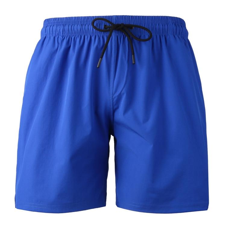 2019 Newest Men's Solid   Board     Shorts   M-4XL Plus Size Bermuda Swim Trunks Loose Polyester Beach Pants