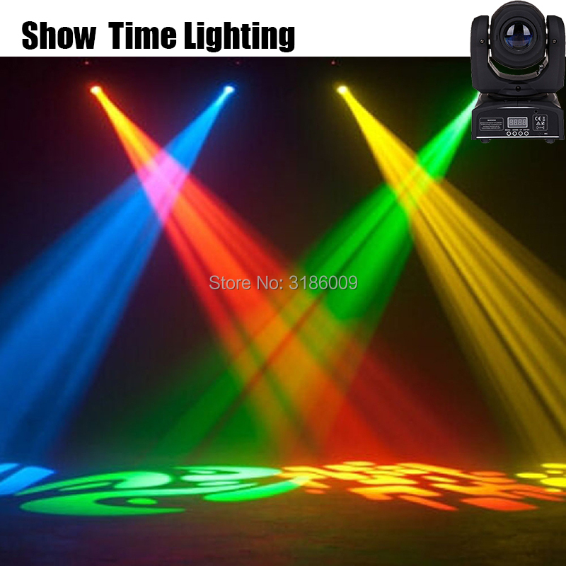Show time mini spot dj led Moving Head disco Light With Gobos Plate&Color Plate 30W High Brightness Led Moving Head Light DMX512|Stage Lighting Effect| |  - title=