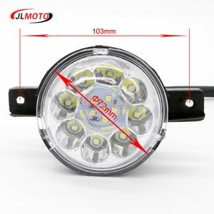 Image 3 - 12 v/36 v LED Front LICHT Für Jinling Actionbike Nirtro 50cc 110cc 125cc Kinder MINI ATV Elektrische Quad bike JLA 07 06 S 12 S 8 Teil