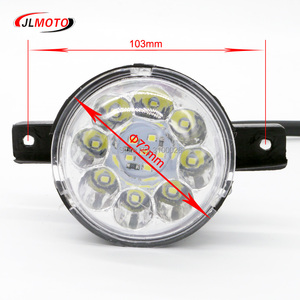 Image 3 - 12 v/36 v LED Front LIGHT Voor Jinling Actionbike Nirtro 50cc 110cc 125cc Kids MINI ATV Elektrische Quad bike JLA 07 06 S 12 S 8 Deel