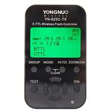 YONGNUO YN 622C TX ، E TTL وحدة تحكم فلاش لاسلكية لكانون ، YN622C TX