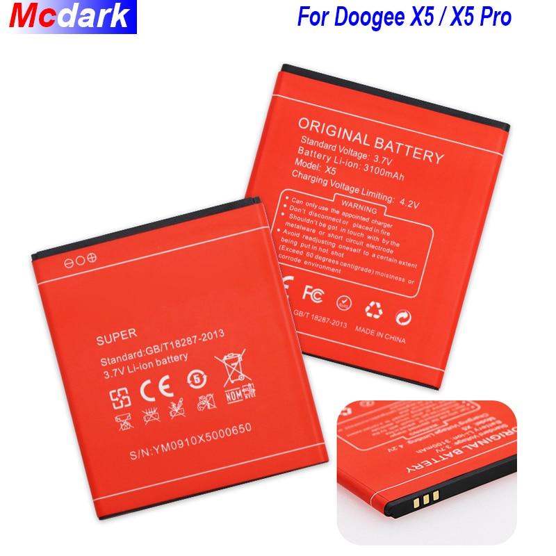 3100 mAh de la batería para Doogee X5 X5S X5 Pro batería pila acumulador AKKU PIL de alta calidad